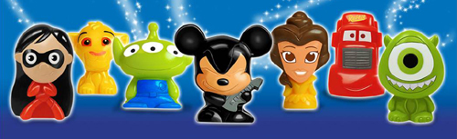 Disney Wikkeez Figures