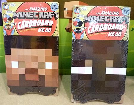 Minecraft Cardboard Heads