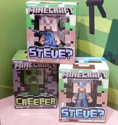 Minecraft New Toy Brands