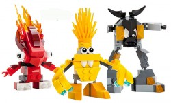 Flain, Volectro and Seismo Mixels Figures