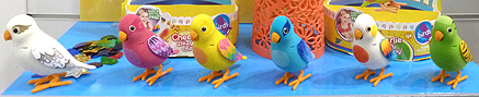 Palm Pals Toy Birds